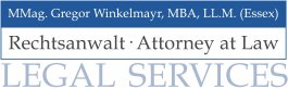 Rechtsanwaltskanzlei MMag. Gregor Winkelmayr, MBA, LL.M. (Essex)