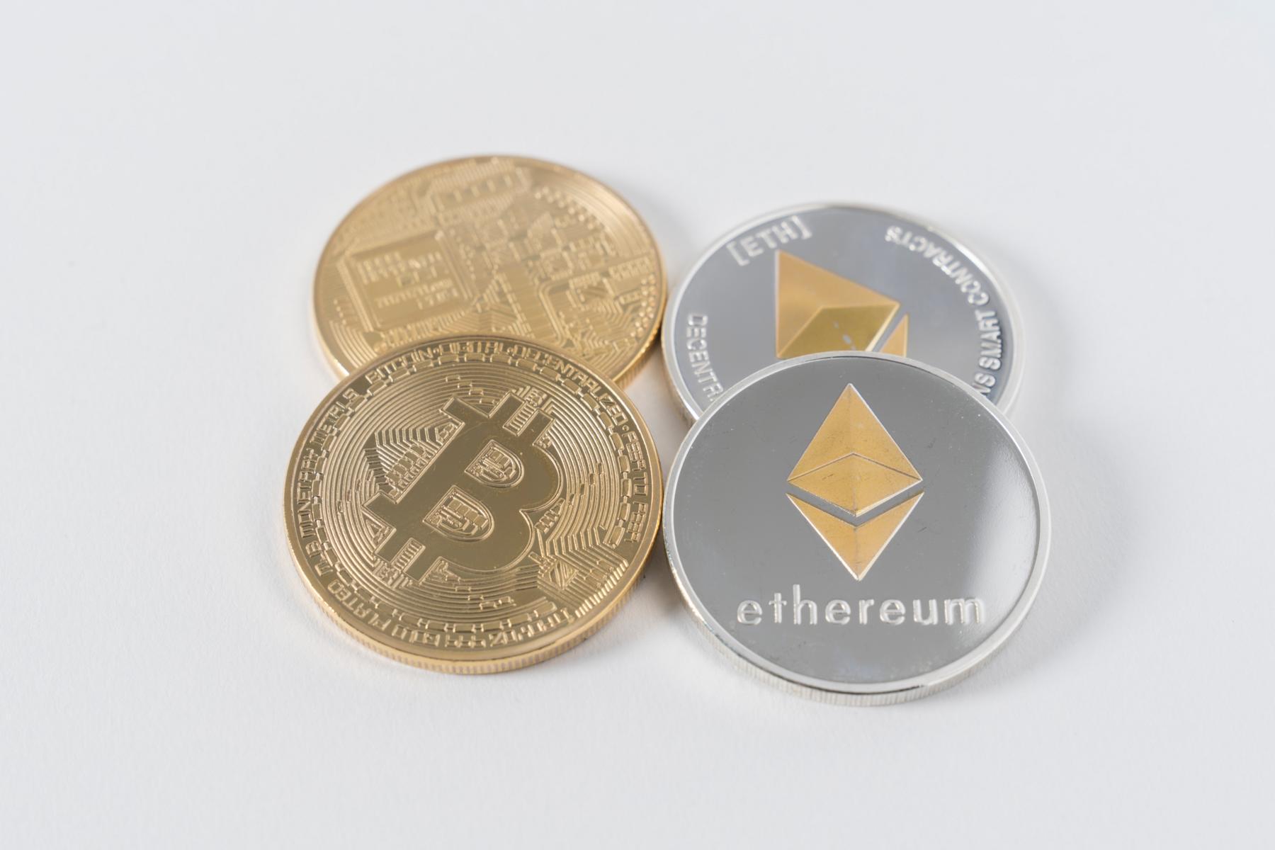 Virtuelle Währung Bitcoin Ether