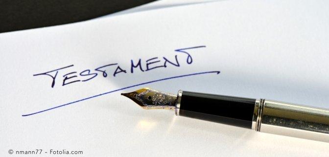 Sie wollen Ihr Testament handschriftlich verfassen? – diese Tipps sollten Sie beachten!